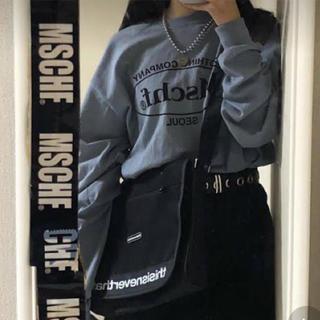 スタイルナンダ(STYLENANDA)のmschf🍊ブルーグレー(Tシャツ(長袖/七分))