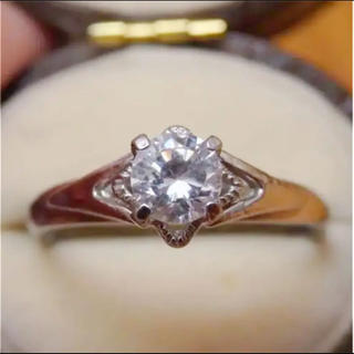即購入OK♡V066昭和レトロなシルバーカラーリングヴィンテージ指輪(リング(指輪))