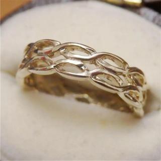 即購入OK♡華奢なモードのデザインリング指輪ピンキーリング(リング(指輪))