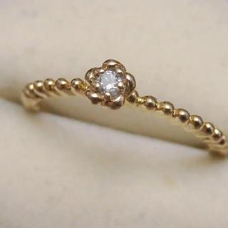 即購入OK♡華奢なお花のゴールドカラーリング指輪ヴィンテージ(リング(指輪))