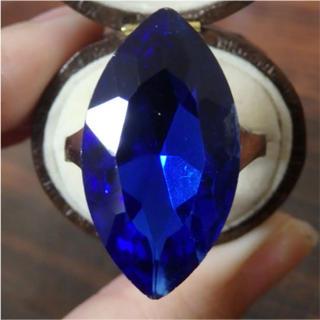 即購入OK*B品特大ストーンのゴージャスリング指輪大きいサイズ(リング(指輪))