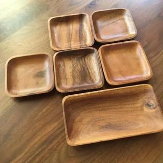 ムジルシリョウヒン(MUJI (無印良品))の無印良品 アカシアプレート 小皿(食器)