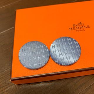 エルメス(Hermes)のくるみボタン2個(各種パーツ)