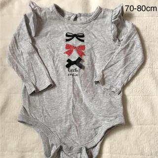 ベビーギャップ(babyGAP)のbabygap 長袖ロンパース(ロンパース)