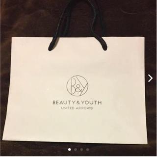 ビューティアンドユースユナイテッドアローズ(BEAUTY&YOUTH UNITED ARROWS)のBEAUTYYOUTH UNITEDARROWS ショップ袋 ショッパー  紙袋(ショップ袋)