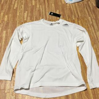 アディダス(adidas)の[新品] アディダス 長袖Tシャツ (Mサイズ)(Tシャツ/カットソー(七分/長袖))