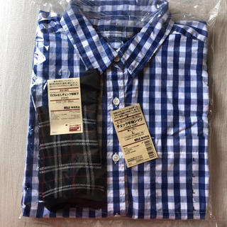 ムジルシリョウヒン(MUJI (無印良品))のMUJIチェック半袖シャツ (シャツ/ブラウス(半袖/袖なし))