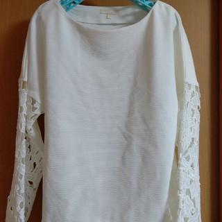 スタディオクリップ(STUDIO CLIP)の袖レーストップス(カットソー(半袖/袖なし))
