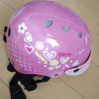 ブリヂストン(BRIDGESTONE)のブリジストン花柄ヘルメット46〜52cm(ヘルメット/シールド)