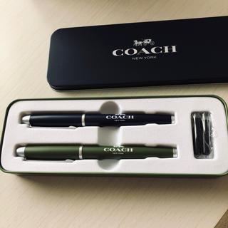 コーチ(COACH)のCOACH 万年筆&ボールペンセット MonoMaxブランドアイテム特別付録(ノベルティグッズ)
