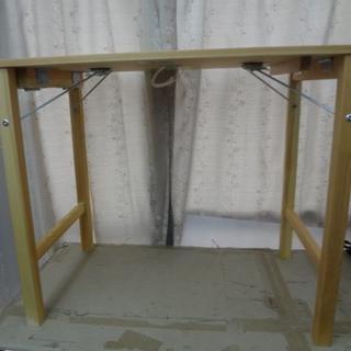 ムジルシリョウヒン(MUJI (無印良品))の 無印良品  良品計画 MUJI 折り畳みテーブル木製(折たたみテーブル)