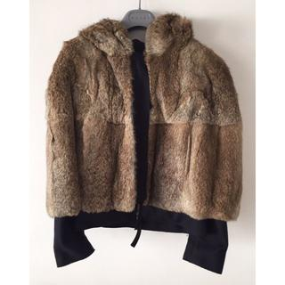 マルニ(Marni)の正規 MARNI 毛皮 ファージャンパー 38(毛皮/ファーコート)