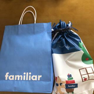 ファミリア(familiar)のファミリア ラッピング 紙袋(その他)