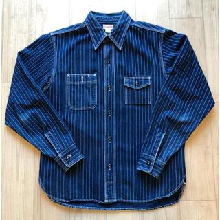 ザリアルマッコイズ(THE REAL McCOY'S)のリアルマッコイズ ウォバッシュストライプシャツ(シャツ)