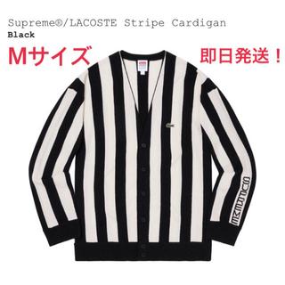 シュプリーム(Supreme)のSupreme × LACOSTE Stripe Cardigan Mサイズ(カーディガン)