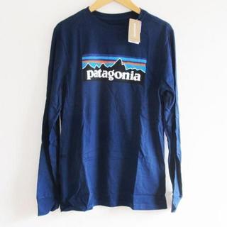 パタゴニア(patagonia)の新品ボーイズXXL(16-18) レディースL パタゴニア ロンT Tシャツ長T(シャツ/ブラウス(長袖/七分))
