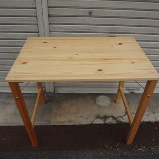 ムジルシリョウヒン(MUJI (無印良品))の無印良品  良品計画 MUJI 折り畳みテーブル木製(折たたみテーブル)