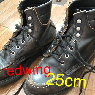レッドウィング(REDWING)のレッドウィング ブーツ(黒)(ブーツ)