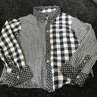 ブーフーウー ボタンダウンシャツ