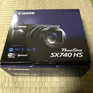 キヤノン(Canon)の≪新品・送料無料≫6台 キヤノン PowerShot SX740 HS ブラック(コンパクトデジタルカメラ)
