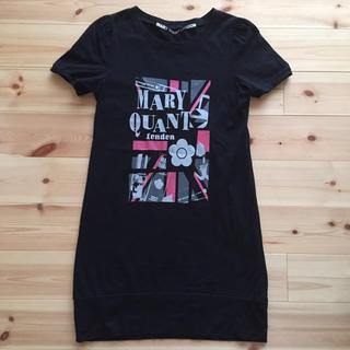 マリークワント(MARY QUANT)のMサイズ MARY QUANT Tシャツワンピース(ミニワンピース)