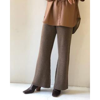 トゥデイフル(TODAYFUL)のT02616/TODAYFUL Flare Knit Pants MCA36(その他)