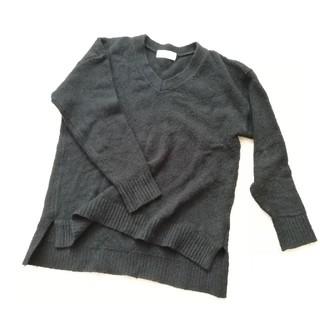 ローリーズファーム(LOWRYS FARM)のローリーズファーム★ざっくりニットセーター(黒色)(ニット/セーター)