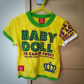 ベビードール(BABYDOLL)のベビードール♡Tシャツ 80(Tシャツ)