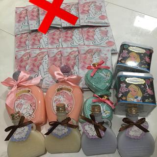 Disney - バスジェル アロマ香り 入浴剤セット ディズニー アリエル アリス 新品