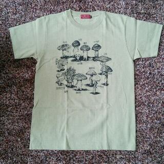 アチャチュムムチャチャ(AHCAHCUM.muchacha)の新品未使用★ヒグチユウコ きのこ会議 Tシャツ Sサイズ(Tシャツ(半袖/袖なし))