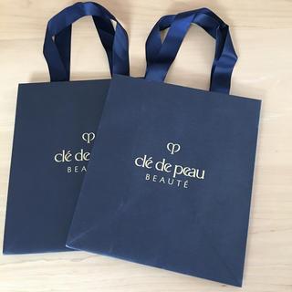 クレドポーボーテ(クレ・ド・ポー ボーテ)のクレドポー ショップ紙袋 2枚(ショップ袋)