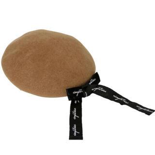 エイミーイストワール(eimy istoire)のeimy istoire   リボン付きベレー(ハンチング/ベレー帽)