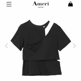 アメリヴィンテージ(Ameri VINTAGE)の最終値下げ ♡2019年再販 Ameri VINTAGE 黒Tシャツ♡(Tシャツ(半袖/袖なし))
