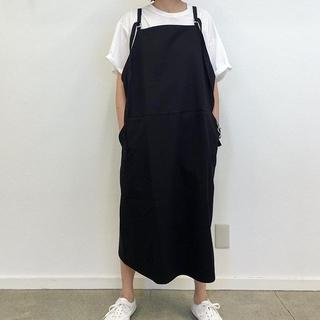 ロンハーマン(Ron Herman)のベースレンジ ジャンパースカート スカート xs 美品(ひざ丈ワンピース)