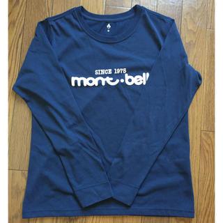モンベル(mont bell)の40周年 ロングT モンベル レディースM ネイビー(Tシャツ(長袖/七分))