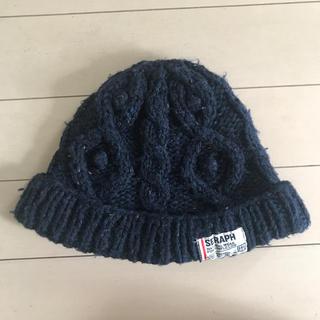セラフ(Seraph)のエフオーキッズ セラフ ニット帽 キャップ キッズ  52〜54(帽子)