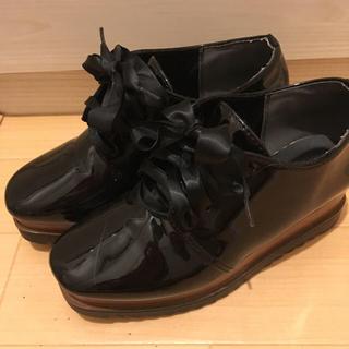 グレイル(GRL)の厚底シューズ(ローファー/革靴)