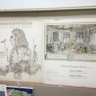 コロンビア(Columbia)のバッハ:シンフォニア集、オーボエ協奏曲他/ヴィンシャーマン(LPレコード2枚)(クラシック)