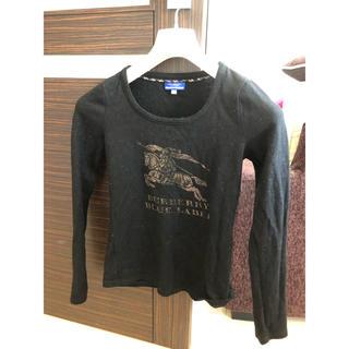 バーバリーブルーレーベル(BURBERRY BLUE LABEL)のバーバリーロンT   毛100%フェルト系素材(Tシャツ(長袖/七分))