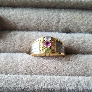 18金 プラチナ リング(リング(指輪))