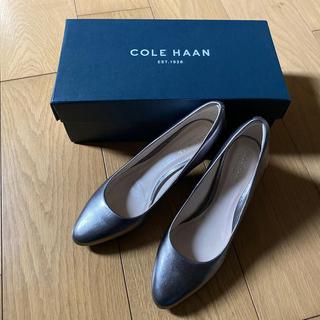 コールハーン(Cole Haan)の新品未使用品☆コールハーン☆ブロンズ 5B 22.5(ハイヒール/パンプス)