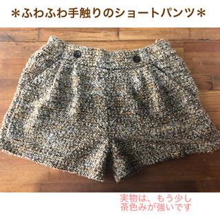 GU - 秋冬にピッタリ 茶色ベースの暖かみショートパンツ*