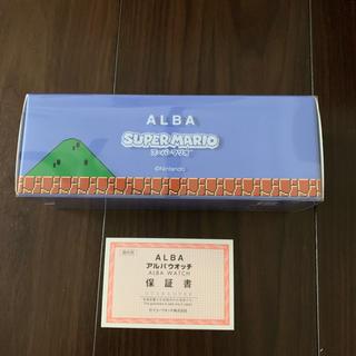 セイコー(SEIKO)の【新品・送料込】 SEIKO ALBA 腕時計 スーパーマリオ ACCK711(腕時計(アナログ))
