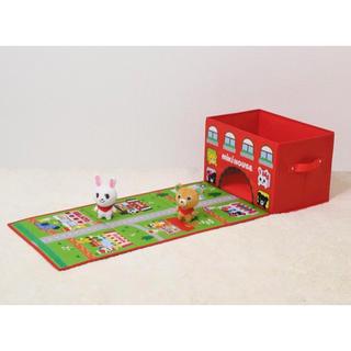 ミキハウス(mikihouse)のプレイマット付きお片づけBOX(その他)