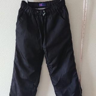 GU - ナイロンズボン男の子黒ブラック120