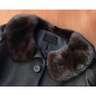 フォクシー(FOXEY)の超美品♡ FOXEY 14.6万 ミンク ファー 衿付き ジャケット フォクシー(テーラードジャケット)