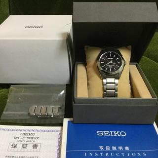 セイコー(SEIKO)のSEIKO SBTM217 7B52-0AK0 ソーラー美品 (腕時計(アナログ))