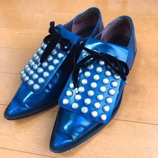 マークバイマークジェイコブス(MARC BY MARC JACOBS)のmarc by marc jacobs 2wayレースアップシューズ(ローファー/革靴)