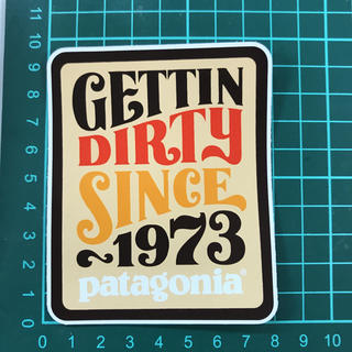 patagonia - patagonia Sticker gettin dirty since1973