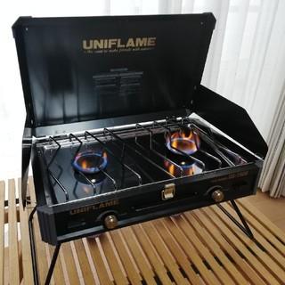 ユニフレーム(UNIFLAME)のまーや様専用 廃盤レア ユニフレーム ツインバーナー US-1900(ストーブ/コンロ)